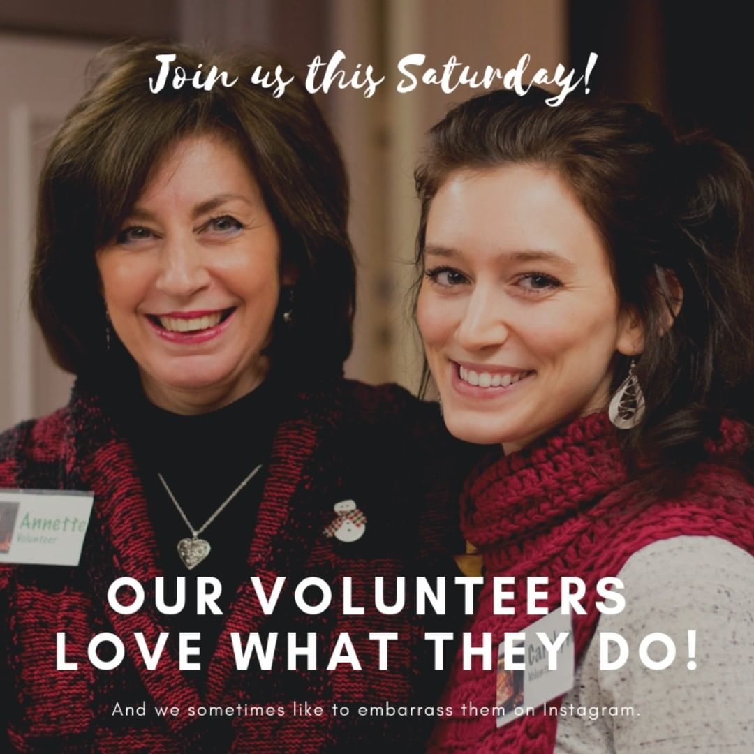 Our volunteers are the BEST! Thanks Annette and Carolyn... Come join us this Saturday for Kirsten and Kim. It'll be a great show. @sheismaxwell @kimmobergmusic