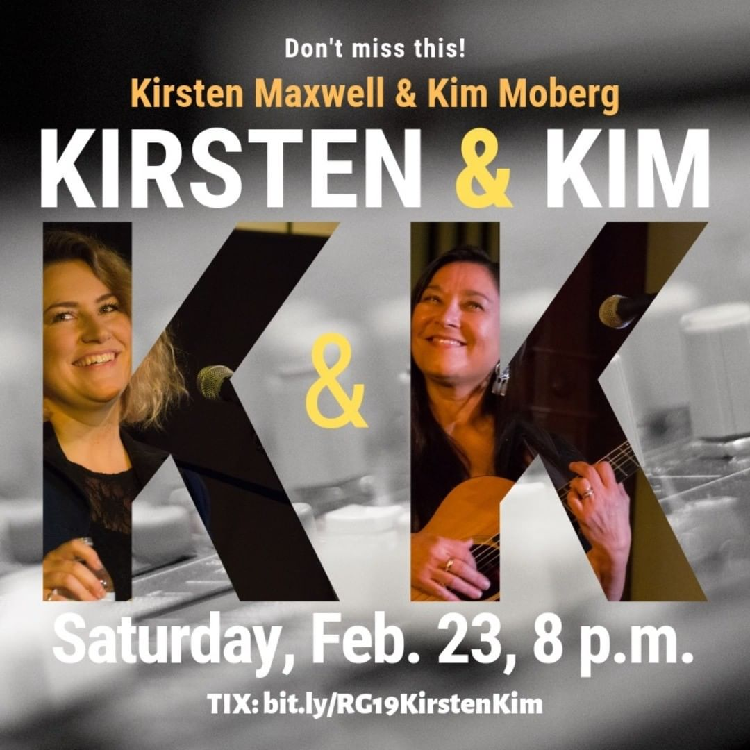 Oh, yeh, two phenomenal singer-songwriters coming to our little neck of the woods. @sheismaxwell @kimmobergmusic