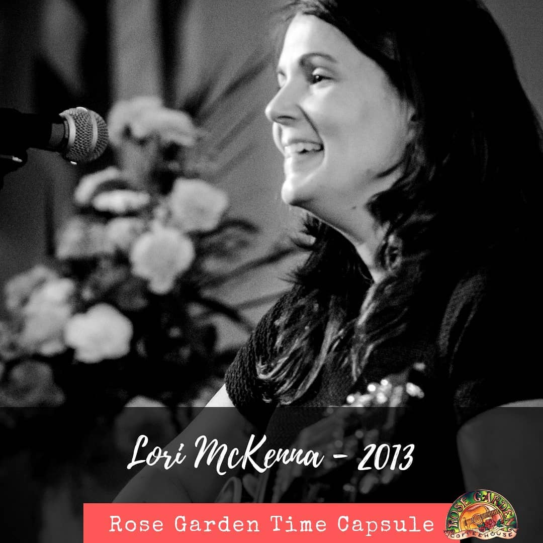 Looking back on 30 years ... Lori McKenna played the Rose Garden in 2013.