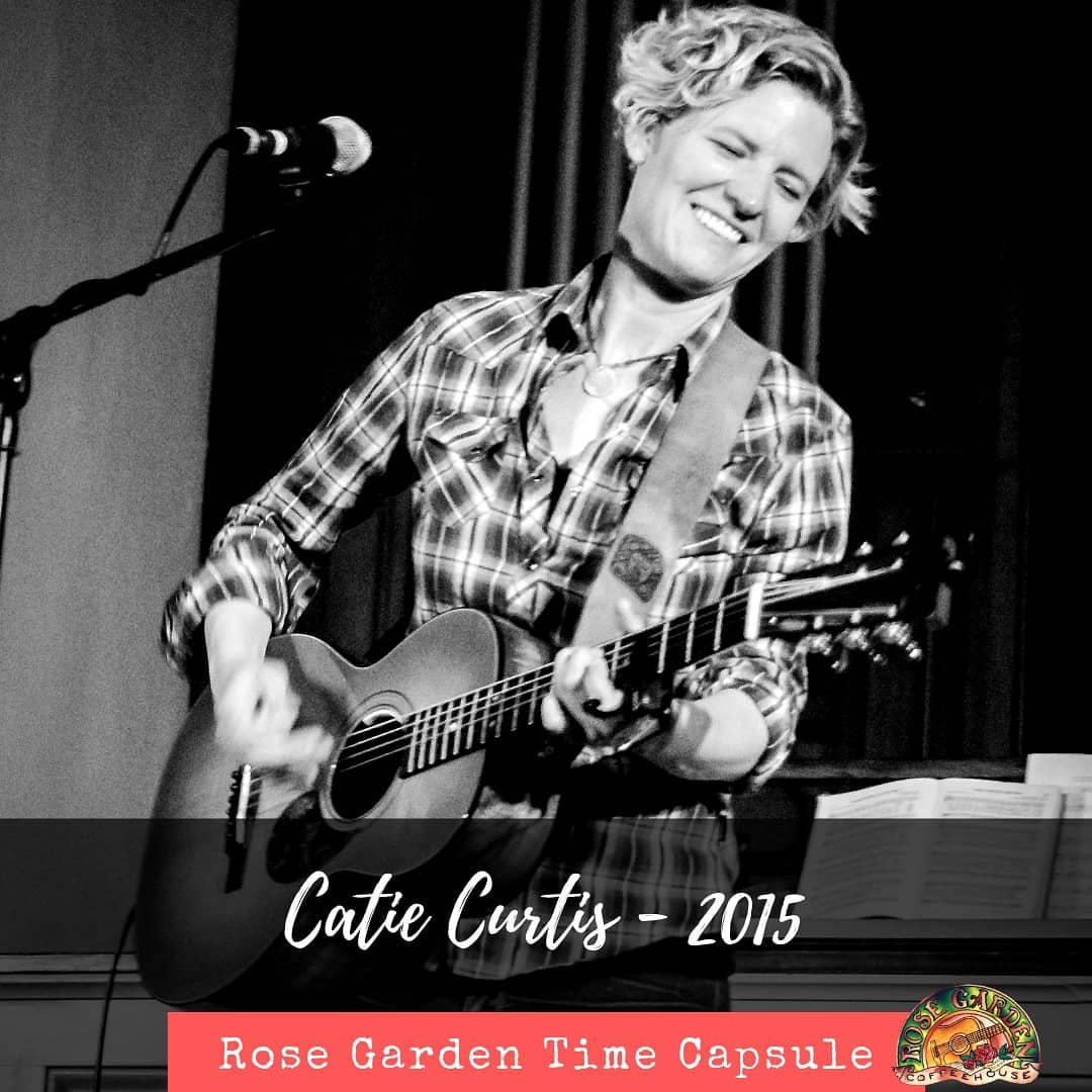 Looking back on 30 years.... Catie Curtis joined us in 2015.  @catiecurtismusic