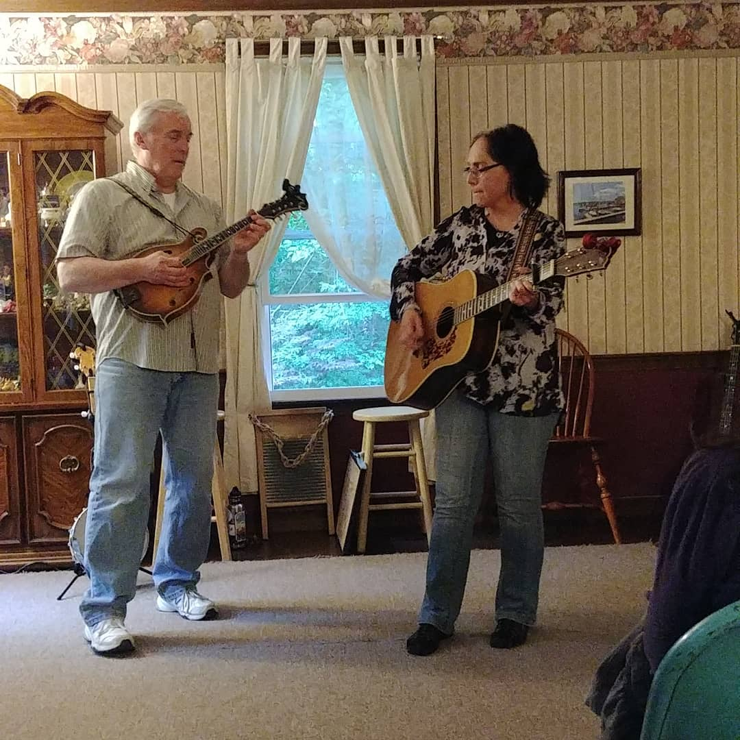 Andy and Judy perform. See them next season at the Rose Garden.