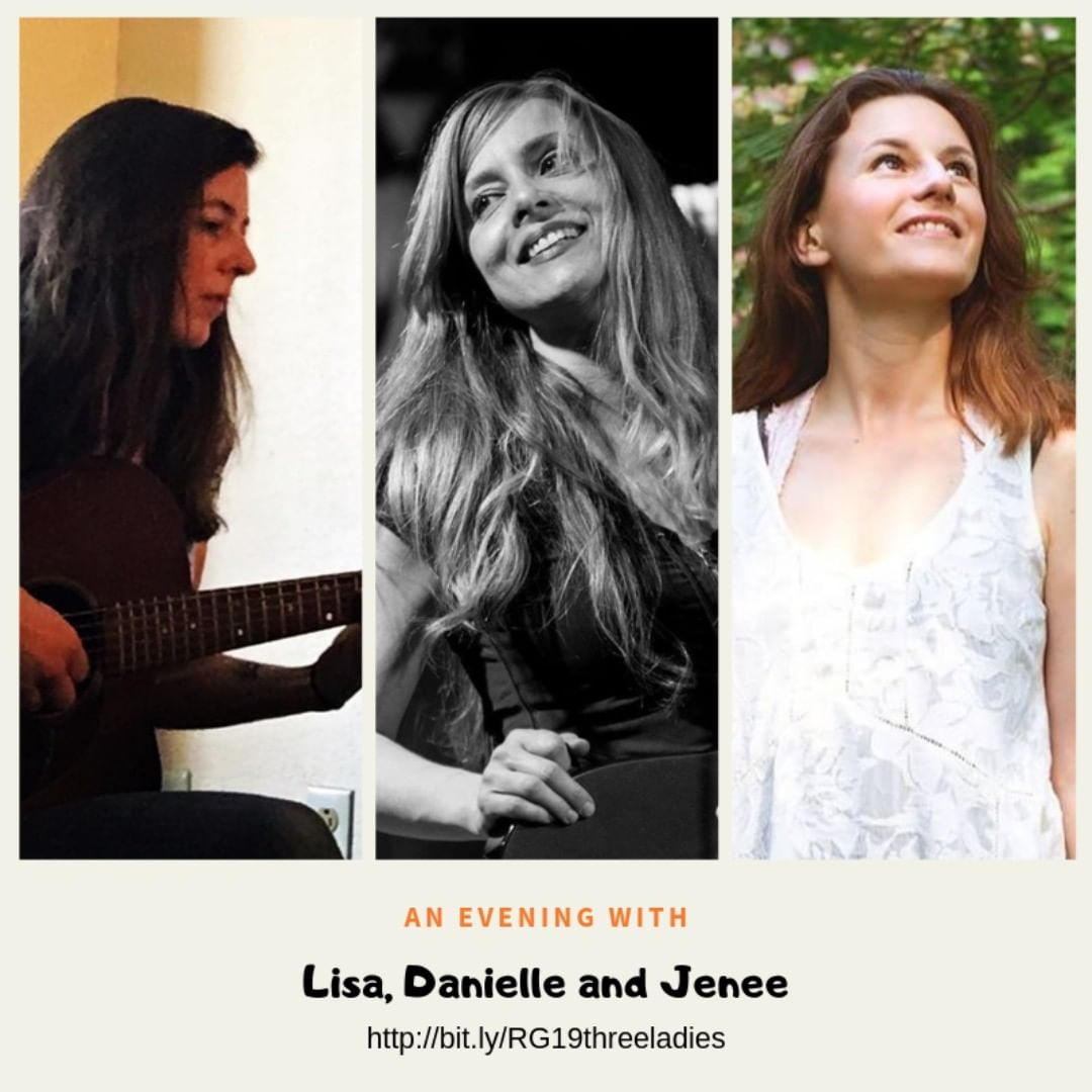 Nothing will compare with spending your Saturday night with Lisa Bastoni, Danielle Miraglia and Jenee Halstead. Three top performers on one stage. Did someone say great songs and harmonies? http://bit.ly/RG19threeladies @jeneehalstead @dmiraglia @lisabastoni