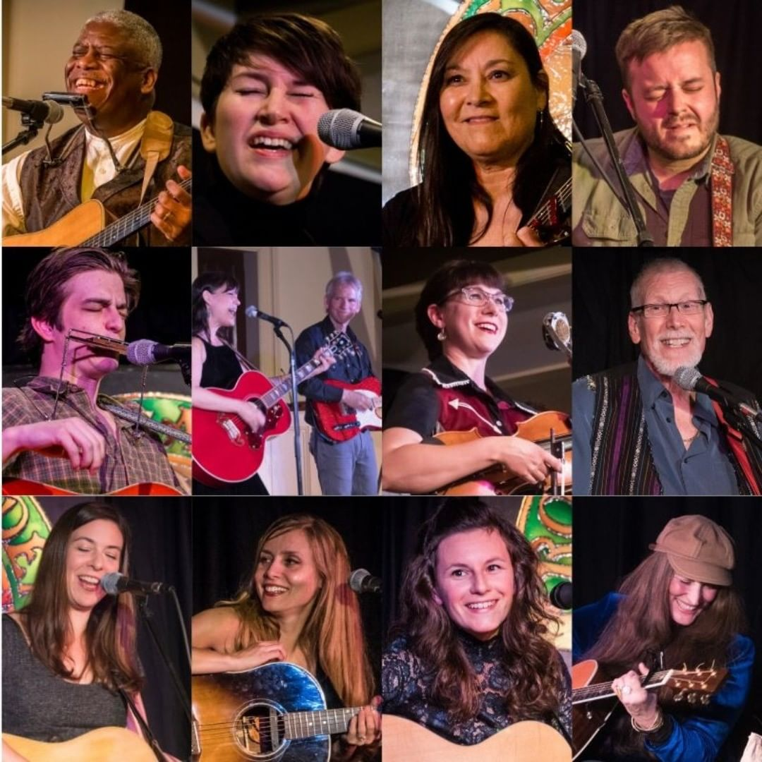 What a great bunch of performers graced the Rose Garden Coffeehouse in Mansfield, MA, in 2019. Can you identify them all? Southern Rail starts off the new year on Jan. 25.  @kerripowers