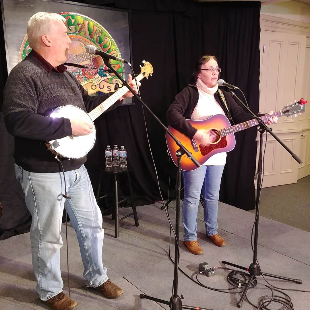 Warmups sounding great with Andy and Judy @andyjudysing @kalafarnham