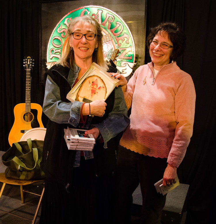 Rae Ann McLanahan, left, with Liz Freeman. Photo by Stephen Ide.