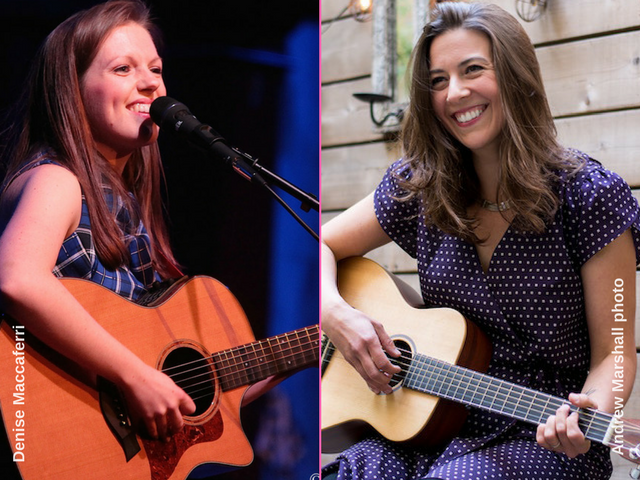 Grace Morrison, left, and Lisa Bastoni. (Photos: Denise Maccaferri and Andrew Marshall)