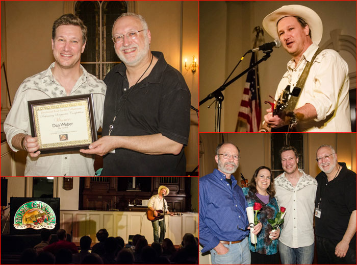 Dan Weber with Steve Ide, contest collage