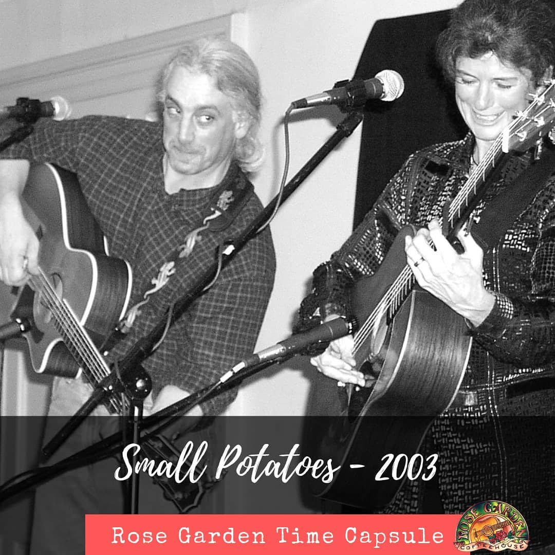 Looking back on 30 years.... Here's Small Potatoes in 2003. Check our website, rosegardenfolk.com and see who's playing next season.  Folkvibe Acoustic Folkmusicrocks Folkmusic