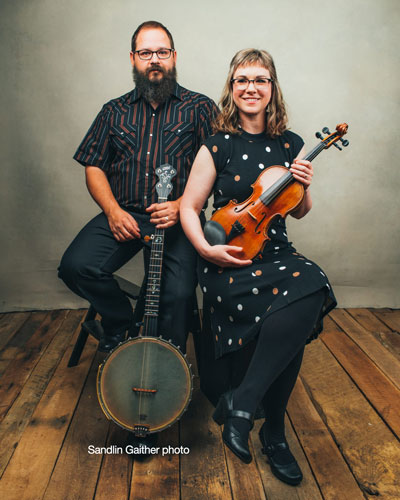 Cody Walters and April Verch - Photo by Sandlin Gaither