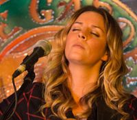 Monica Rizzio, opener Jim Trick