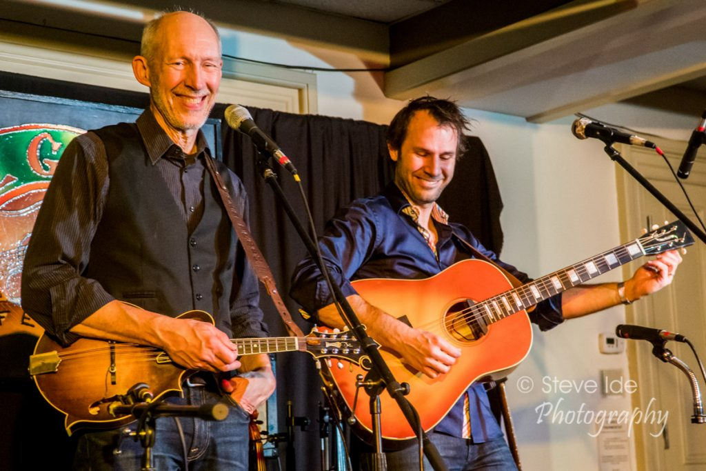 Taylor & Jake Armerding perform at the Rose Garden Coffeehouse on Saturday, April 14, 2018. Photo © Copyright 2018 Stephen Ide