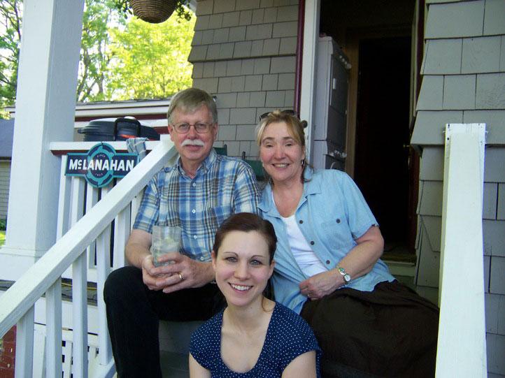 Mac, Rae Anne and April